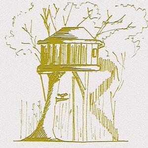 Les cabanes perchées du Gite à JT